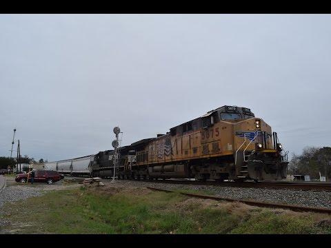 Railfanning Spring, TX 1/2/16