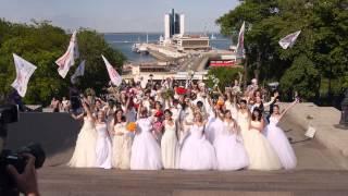 Сказочные королевы на Одесском Параде Невест 2015 ! Команда №2