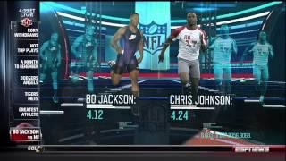 1st Semifinal: ESPN Sport Science- Michael Jordan vs. Bo Jackson