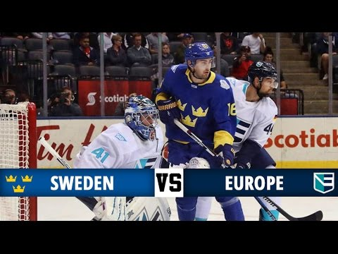 Sweden vs Europe Highlights - World Cup of Hockey 2016 - Overtime! (25/9/16)