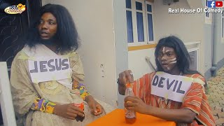 Download Thespian Nozy Comedy - Evangelist Osagie Surprises Jesus And Devil (Real House Of Comedy)
