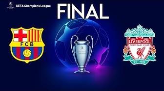 UEFA Champions League Final 2020 - Barcelona vs Liverpool