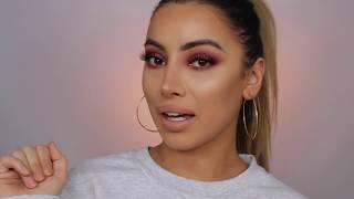 Soft Plum Smokey Eye Makeup Tutorial | Gemma Isabella