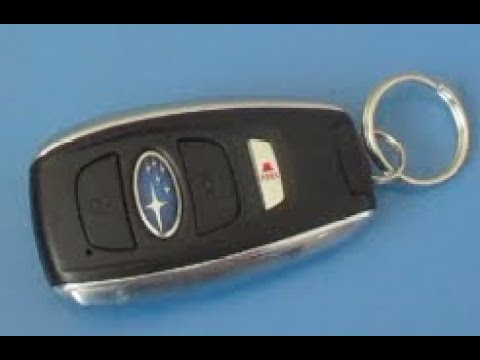 Subaru Replacement Key >> How To Replace Key Fob Battery Subaru Forester 2014 2015 2016 2017 2018 2019 2020 Replacing Battery