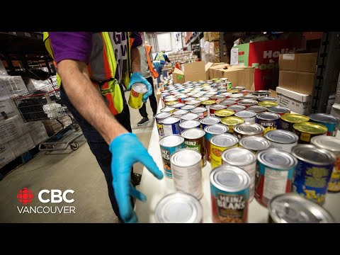 CBC B.C.'s Food Bank Day receives record-breaking amount of donations