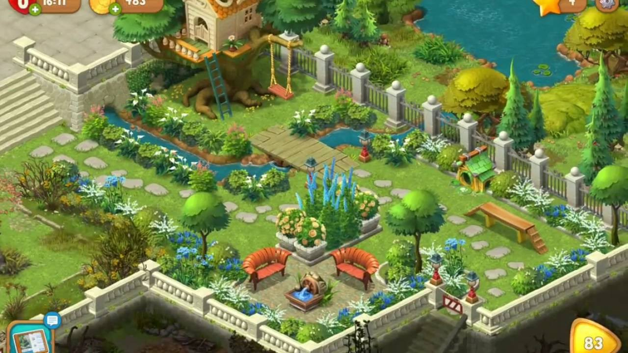 Gardenscapes Fountain Youtube