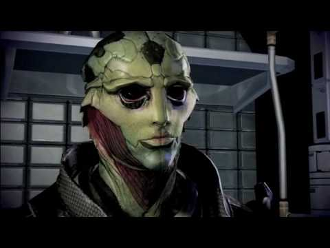 Mass Effect 2: Thane Krios Romance Dialogue - YouTube
