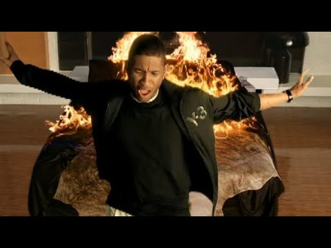 Usher - Let It Burn With Lyrics