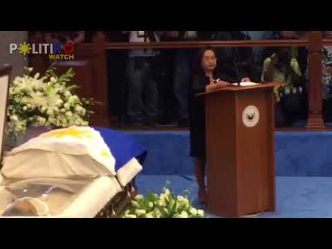 Ex-President and Pampanga Rep. Arroyo: Ed Angara, a strong principle public servant