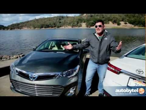 2013 Toyota Avalon Hybrid Sedan Car Video Review