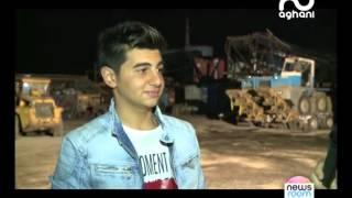 أغاني أغاني ترافق كريم عبدو في نهار تصوير فيديو كليبه الجديد
