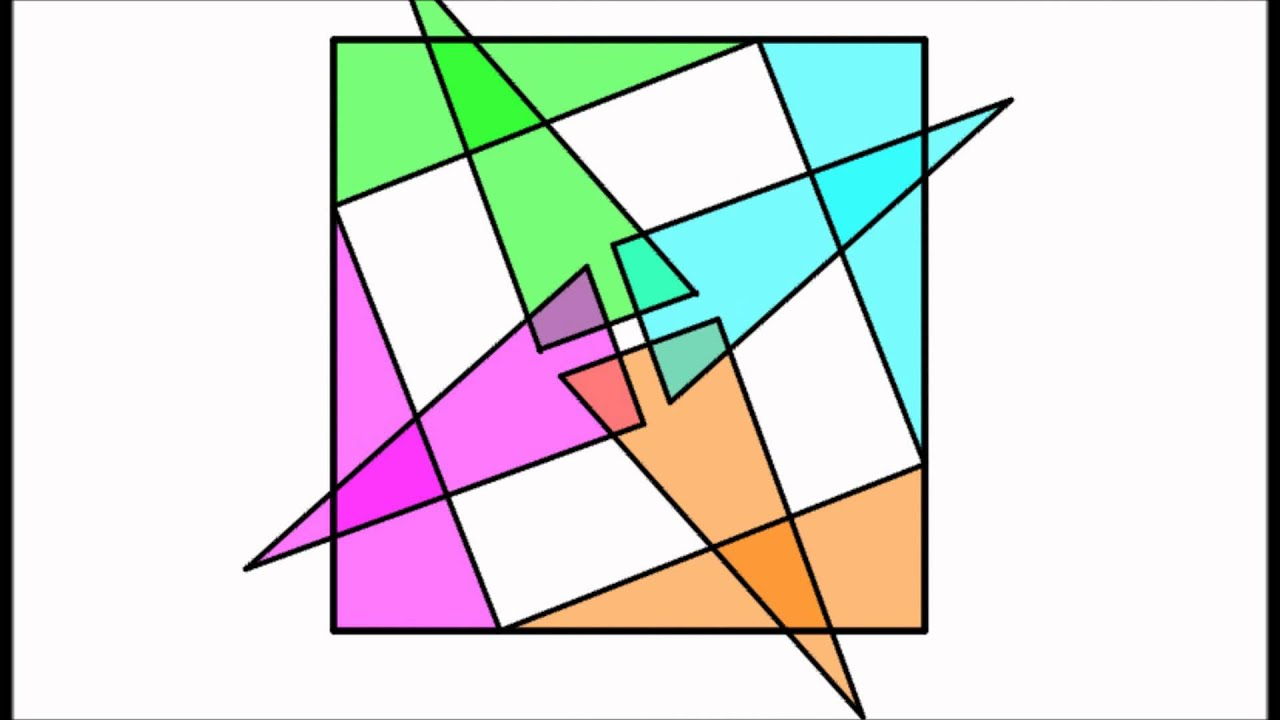Pythagorean Theorem Visual Proofs 1