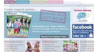 Kate Middleton Family Business Party Pieces Ecommerce Website Review