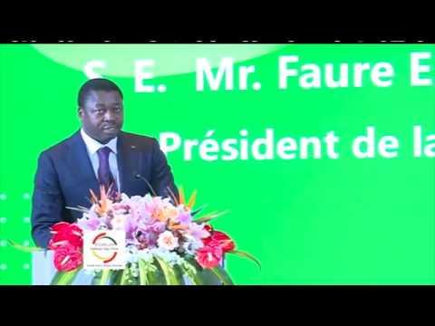Discours de SEM Faure E. GNASSINGBE au forum d'affaires Chine-Togo