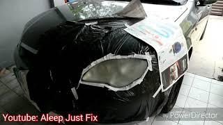 Kilatkan Semula Headlamp dengan Kos RM12 Jerr!