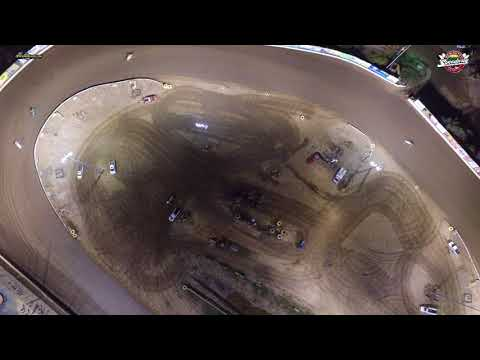 Northeast Wingless Sprint Car Drone Highlights New Egypt Speedway 10 21 17