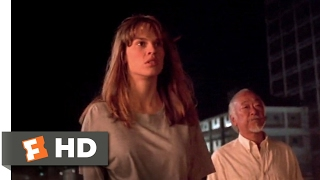 The Next Karate Kid (1994) - Julie Fights Ned Scene (9/10) | Movieclips