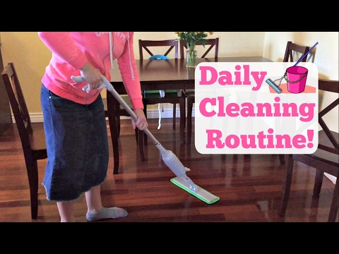 My Daily Cleaning Routine! | Clean With Me