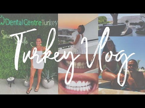 I GOT VENEERS/CROWNS - DENTAL CENTRE TURKEY | TURKEY VLOG 1 | Meg Branch