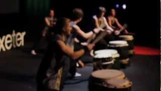 Kagemusha Taiko Drummers 1st performance at TEDxExeter