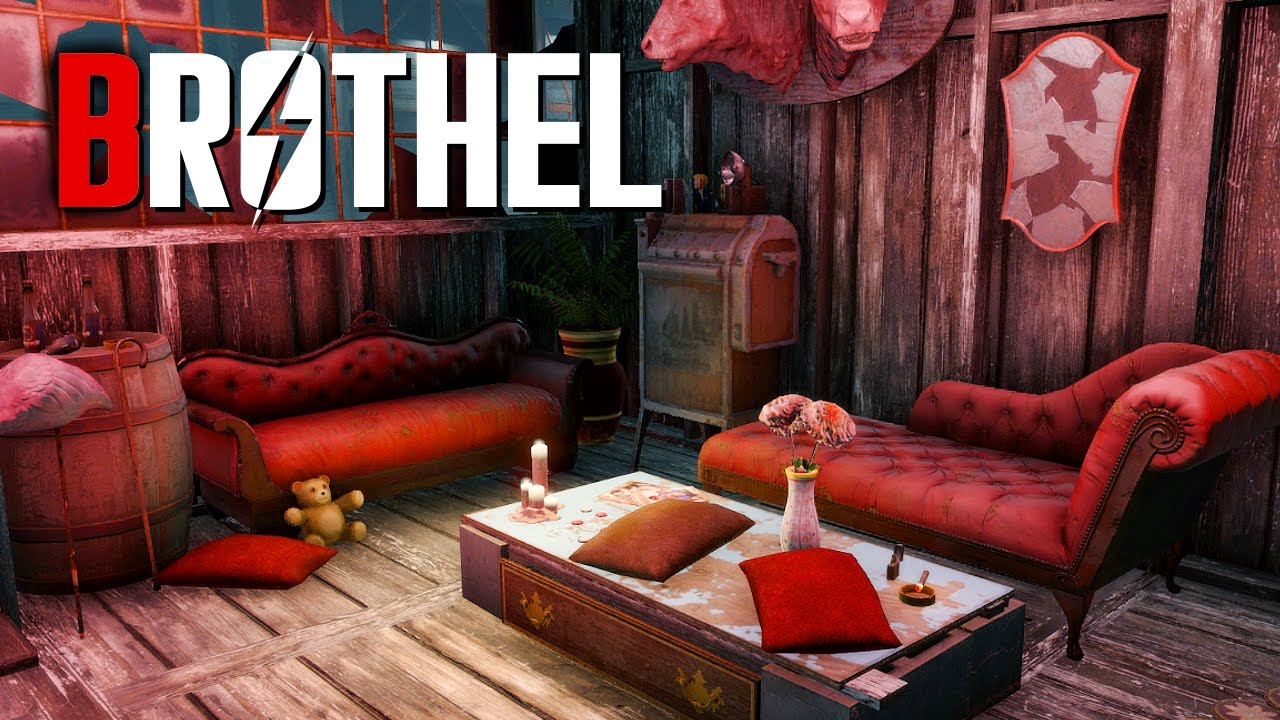 Fallout 4 Settlement Build: Brothel
