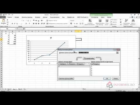 Как построить линейный график в ворде
