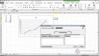 Как в excel построить график