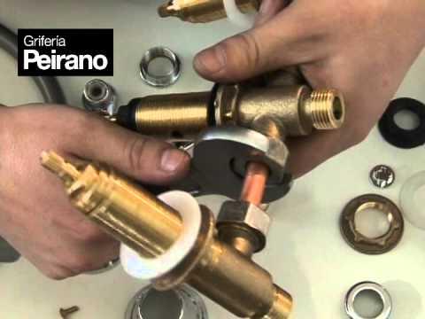 Griferia Peirano Instalacion De Bidet Con Conexiones Metalicas