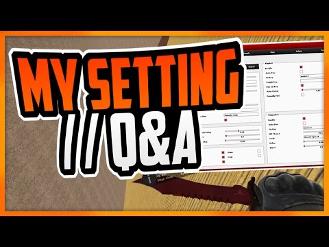 CS:GO   My Legit Hacking Setting (Aimware/Iniuria) // Some Friday Q&A  - I GOT BANNED... #BhopOwedxd