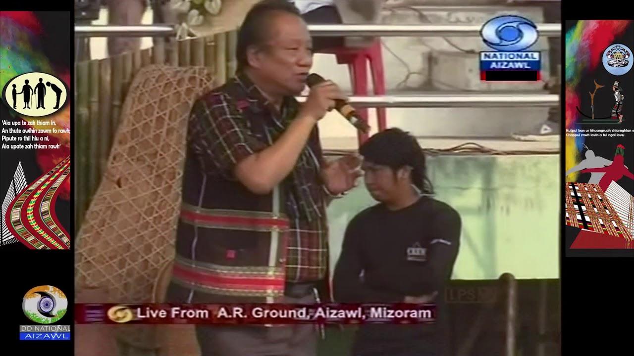 Chapchar Kut 2018 | C. Vansanga - Buannel Ram dai (Live)