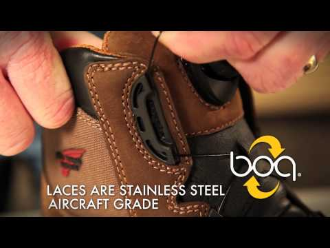 Red Wing Shoes Technology: BOA Closure System