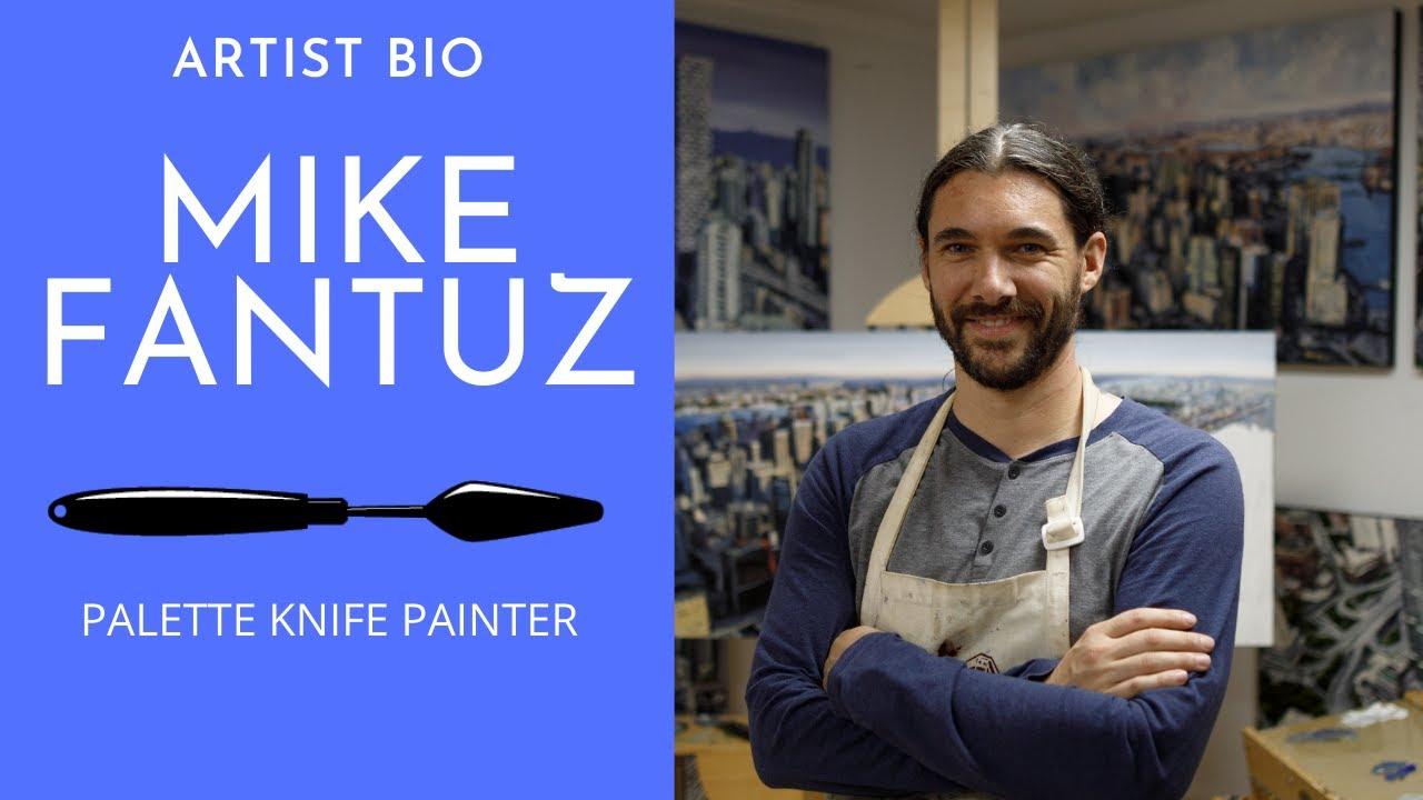 Artist profile Mike Fantuz Oil Paintings