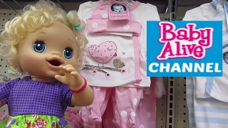 BABY ALIVE Haul Compilation: Baby Alive Toys R Us + Target+Dollar Store Haul with BABY ALIVE CHANNEL