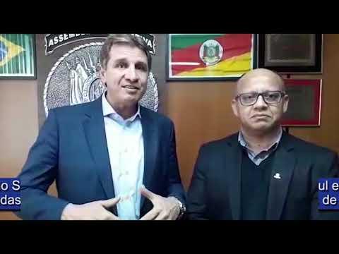 Eduardo Santos e Dep. Ernani Polo comentam sobre a aprovação do ovo na merenda escolar no RS