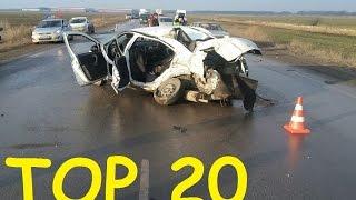 TOP 20 Crashes  13 01 2017  Car Crash Compilation
