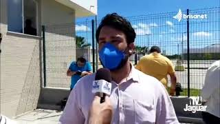 Antônio Holanda    Presidentes de Câmaras de vereadores do Vale do Jaguaribe ocupam recepção do Hosp