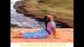 Striking Cobra Pose to Tone the Female Reproductive Organs : Wai Lana Yoga