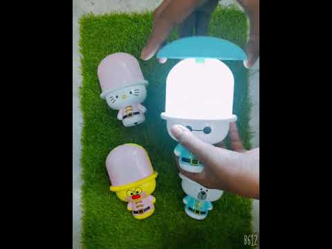 Cute LED chargeable study lamp for kids 😍