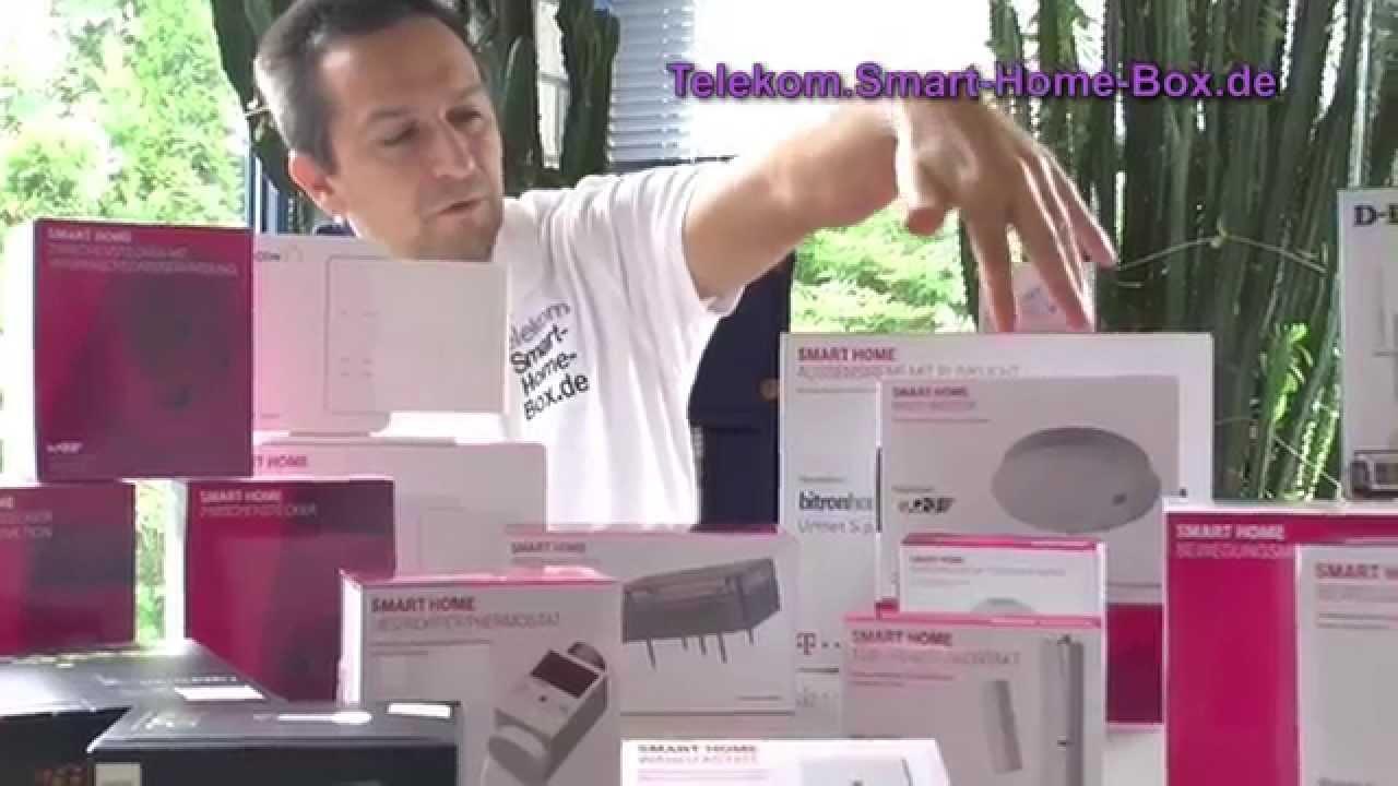 telekom smart home vorstellung aller produkte doovi. Black Bedroom Furniture Sets. Home Design Ideas