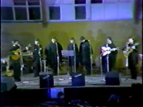Quilapayún en Mendoza,Noviembre 1983.
