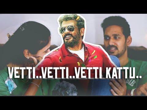Vettikattu Song Reaction | Viswasam | Ajith Kumar | D.Imman | Jodi Reactions (2018)  - JR #7