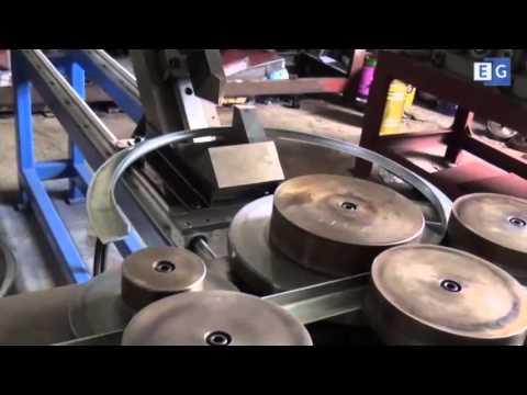 Станок для производства фланцев для воздуховодов