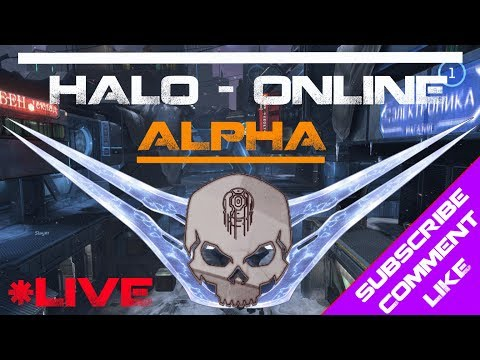 Halo Online - Elephant Zombie Defense - NEW UPDATE TONIGHT! - Live Stream - Subscribe!