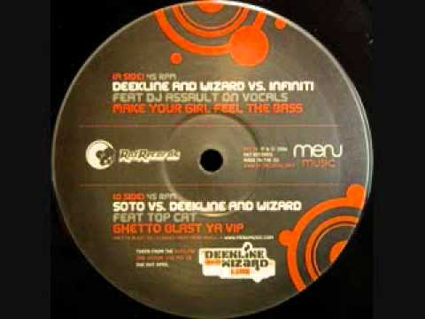 Deekline & Wizard Vs Infiniti- Make Your Girl Feel The Bass.wmv mp3