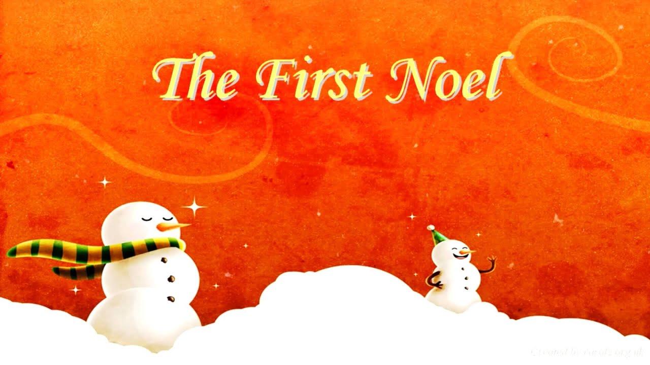 THE FIRST NOEL Lyrics - YouTube