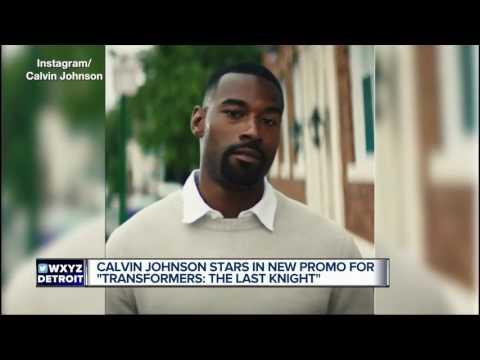 Calvin Johnson stars in