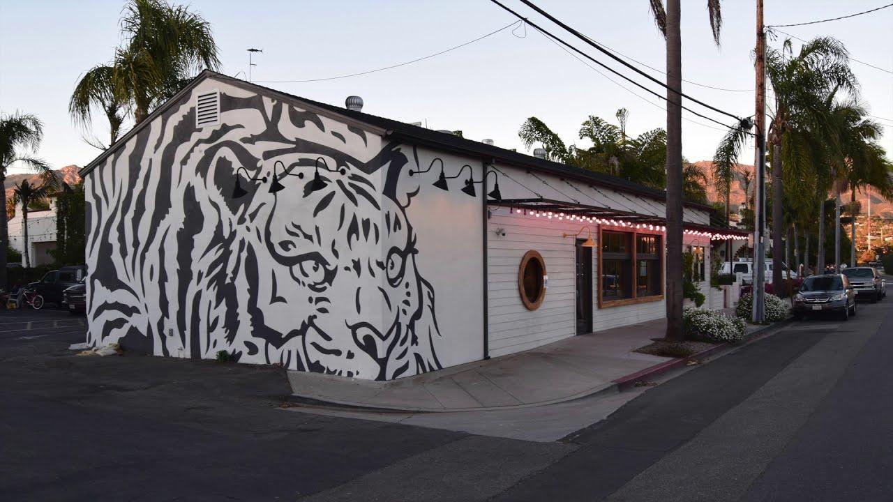"""The """"Funk Zone"""" in Santa Barbara, California"""