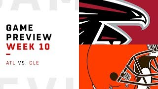 Atlanta Falcons vs. Cleveland Browns | Week 10 Game Preview | NFL Playbook