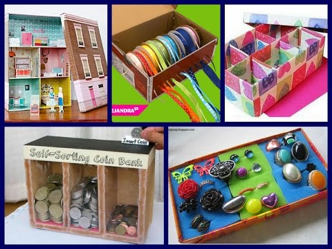 Best Shoe Box Crafts Ideas - Recycled Crafts Ideas - Inspiration to Make Shoe Box Crafts for Kids