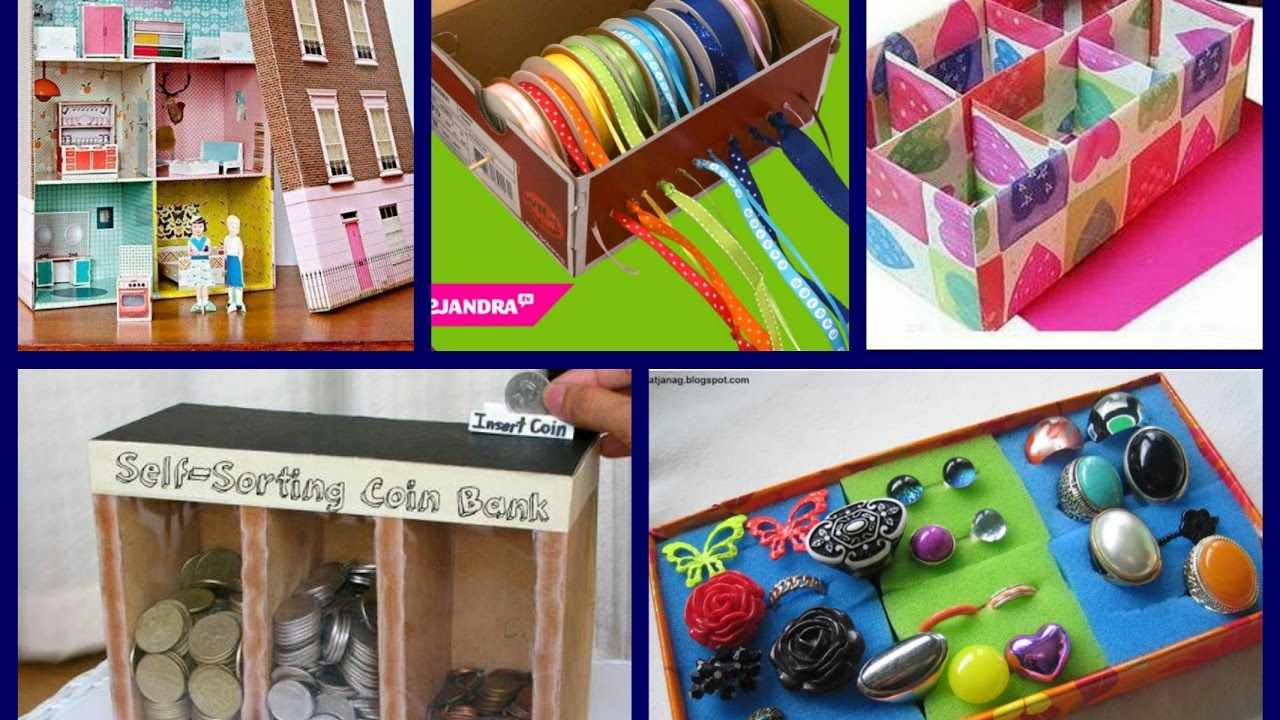 Best shoe box crafts ideas recycled crafts ideas for Reuse shoe box ideas
